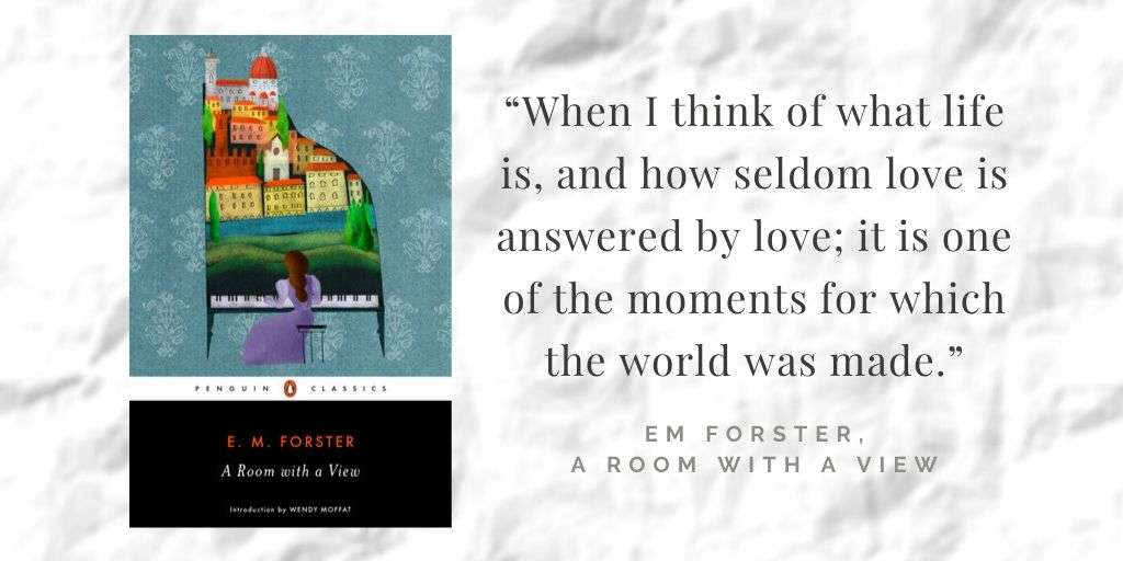 Book Quote on Love - E M Forster