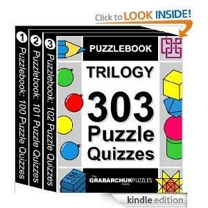 Review – PUZZLEBOOK TRILOGY 303 Puzzle Quizzes by Grabarchuk Family