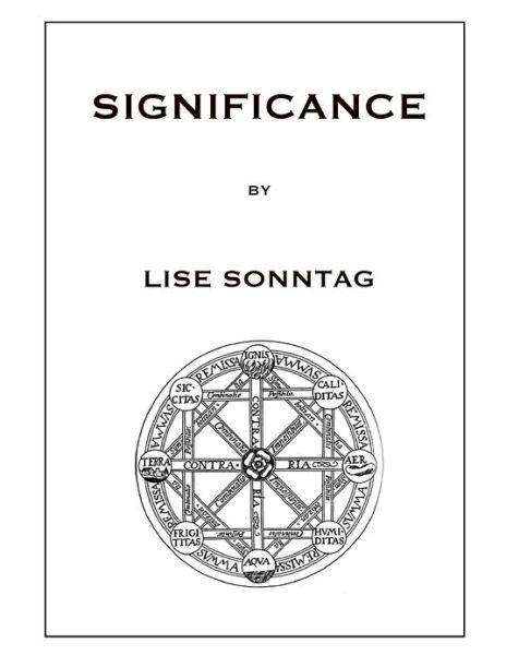 Significance by Lise Sonntag