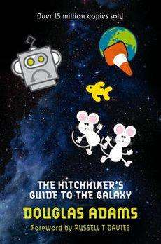 THE HITCHHIKER'S GUIDE TO THE GALAXY by Douglas Adams, Book Review