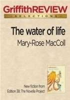 The Water of Life by Mary-Rose MacColl