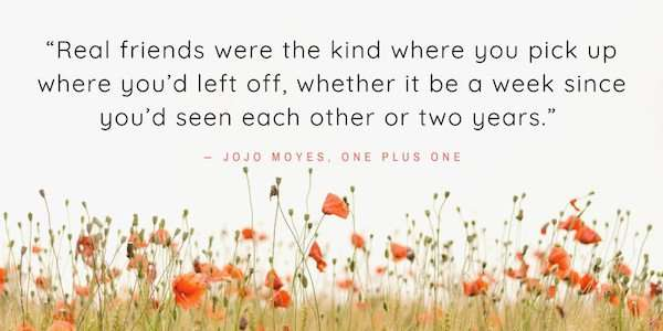 Book Quote - One Plus One by Jojo Moyes