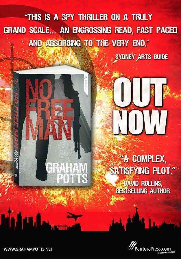 International Book Giveaway – NO FREE MAN by Graham Potts