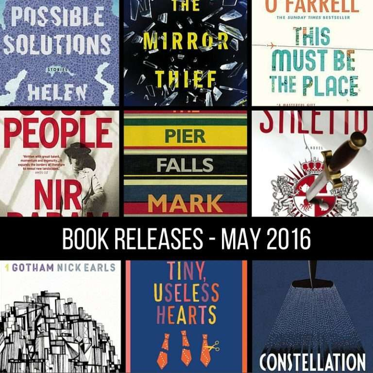 May book releases that have caught my eye – 2016