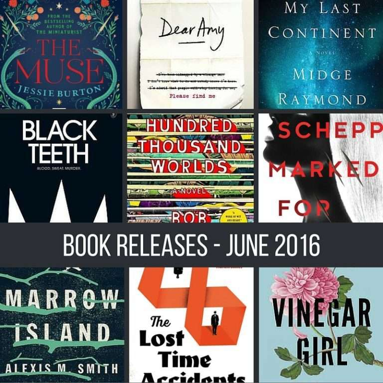 June book releases that have caught my eye – 2016