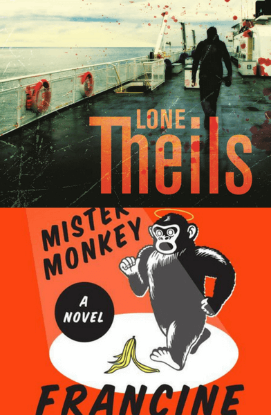 Booklover Mailbox – Fatal Crossing and Mister Monkey