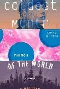 Books by Christoffer Carlsson, Hwang Sok-Yong, Lucy Ives