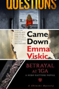 New books from Emma Viskic, Lisa Hartley and Susan Spann