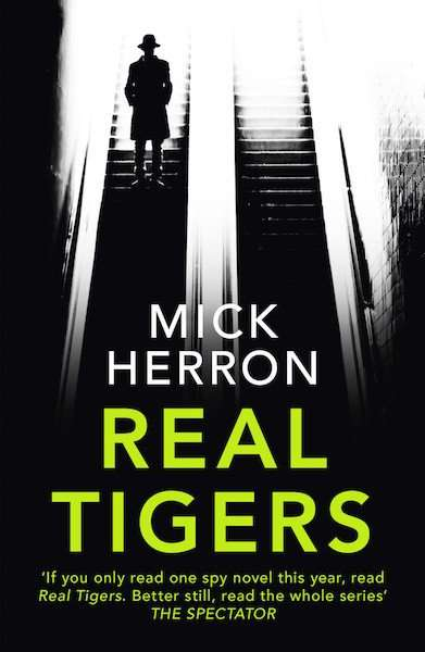 Real Tigers by Mick Herron, Review: Dark farce thriller with bite