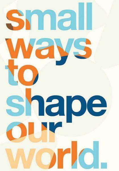 SMALL WAYS TO SHAPE OUR WORLD from Igniting Change, Book Review