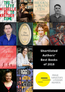 Best Books of 2018 from Australian authors shortlisted for PM Literary Awards