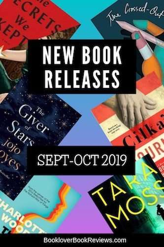 September – October 2019 Book Releases to add to your Reading Wishlist