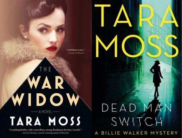 The War Widow _ Dead Man Switch - Tara Moss - Book Covers