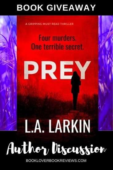 PREY author L.A. Larkin on a pandemic book launch