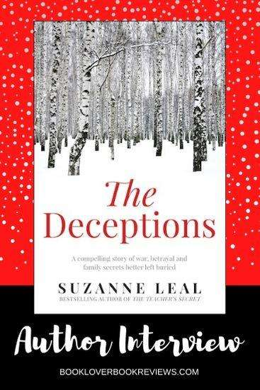 The Deceptions: Q&A with author Suzanne Leal