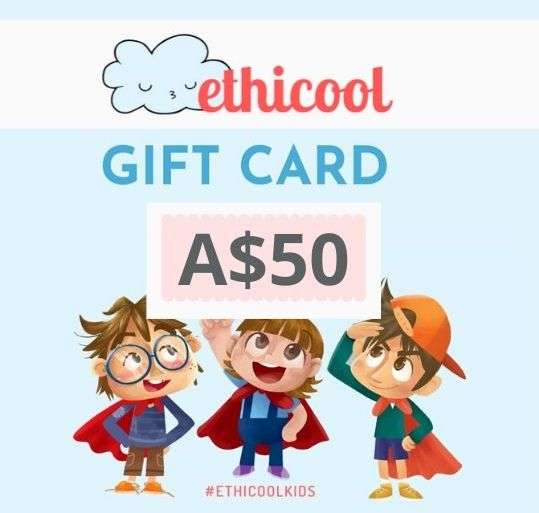 Ethicool Books A$50 Gift Card