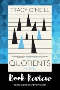 Quotients by Tracy O'Neill - Book Cover