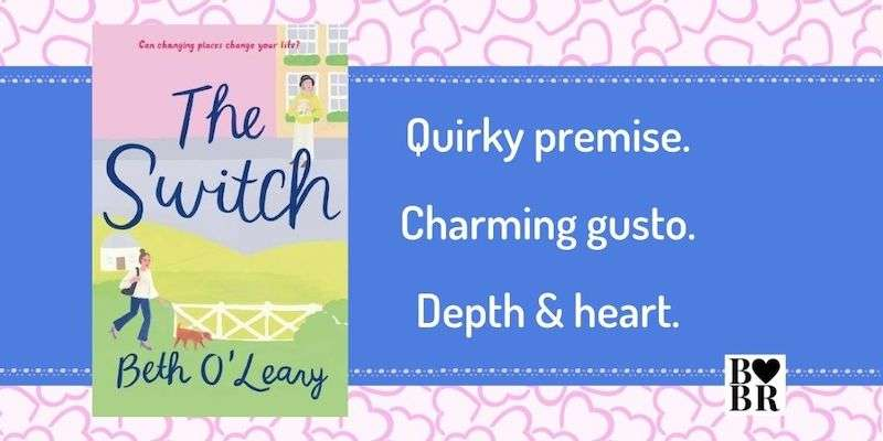 The Switch by Beth OLeary, Book Review - US Cover