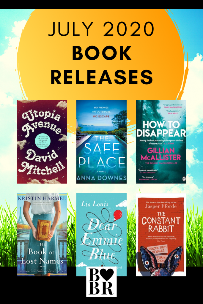 July 2020 Book Releases, New Fiction
