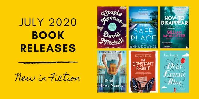 July 2020 Book Releases - New in Fiction