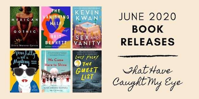 June Book Releases Fiction - New Novels