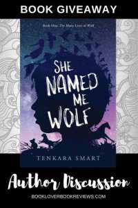 She Named Me Wolf, Author Post & Giveaway