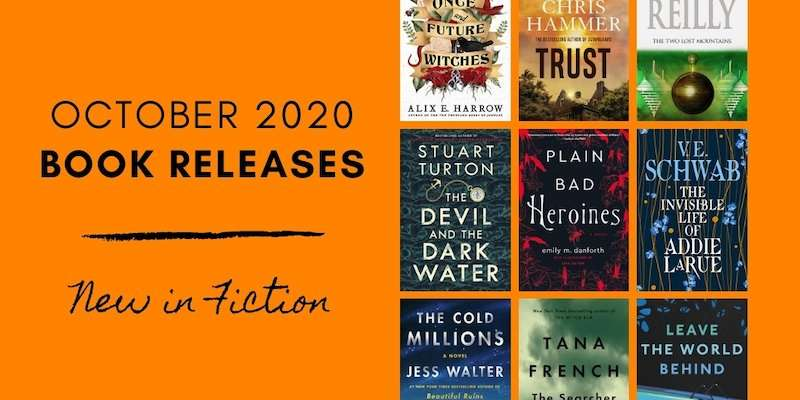 October 2020 Book Releases - New Fiction Books