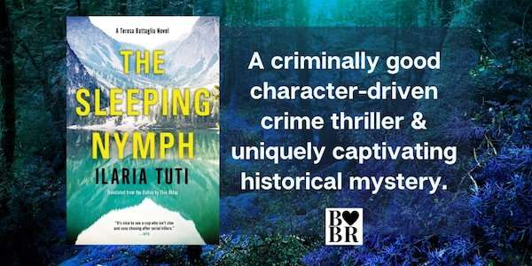 The Sleeping Nymph by Ilaria Tuti (Painted In Blood) - Book Review