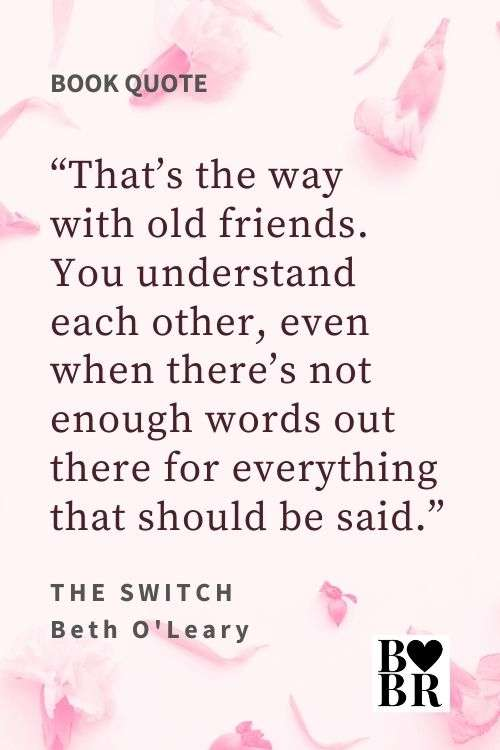 The Switch Book Quote - Friendship