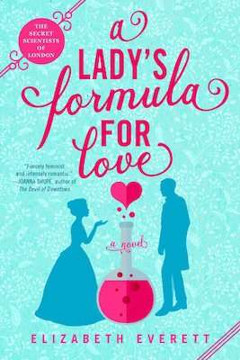 A Lady's Formula for Love by Elizabeth Everett - February new romance novels