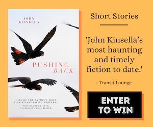 Pushing Back by John Kinsella eBook Giveaway