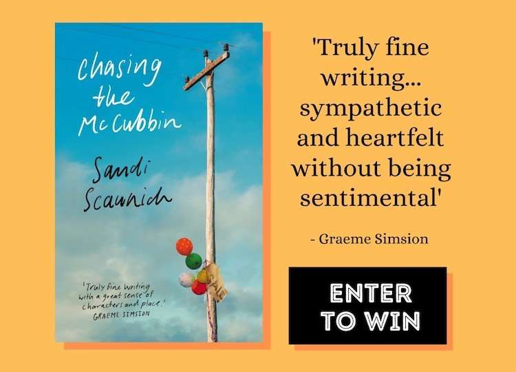 Chasing the McCubbin eBook Giveaway, Banner