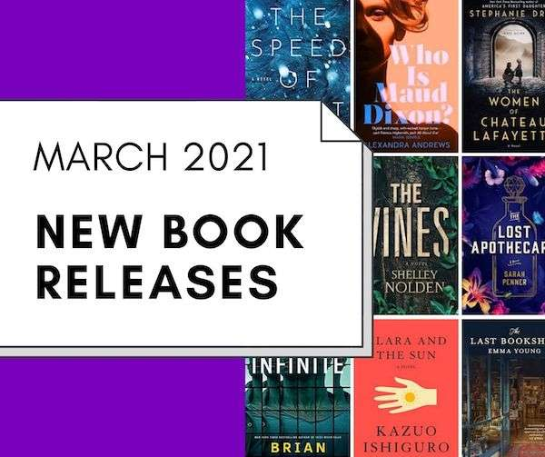 March 2021 Book Release - New Fiction