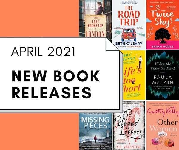 April 2021 Book Releases - New Fiction