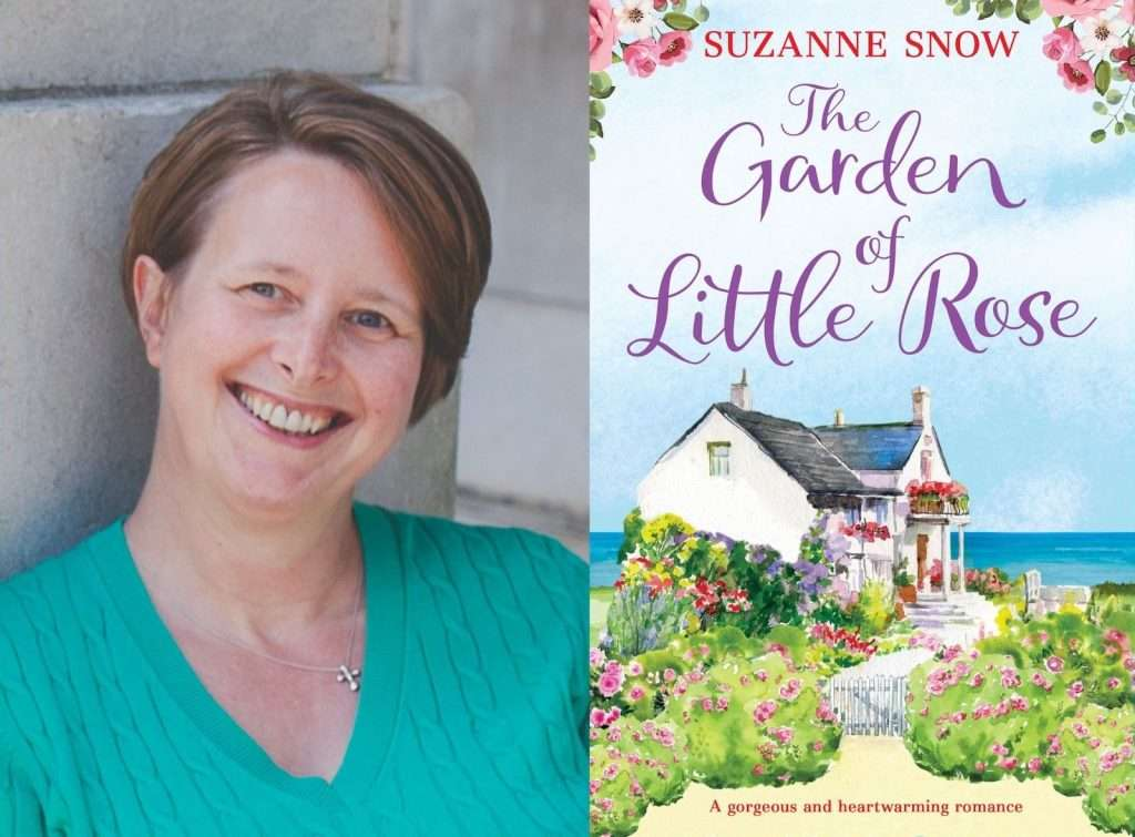 The Garden of Little Rose by Suzanne Snow, Author Interview & Giveaway