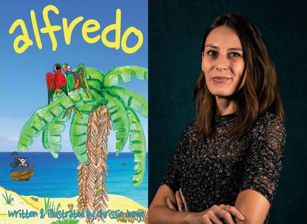 Alfredo by Chrissie Junge, Author Discussion + Giveaway