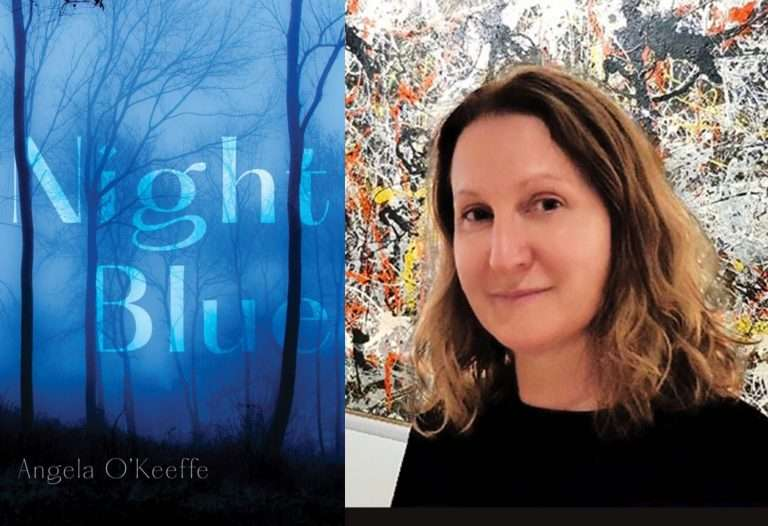 Night Blue: Angela O'Keeffe on living art + Book Review