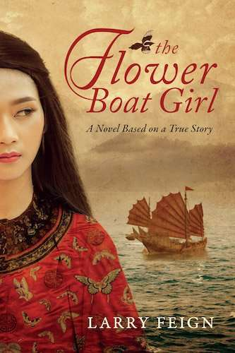 The Flower Boat Girl by Larry Feign - Book Cover