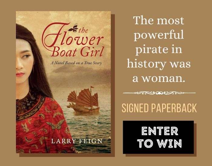 The Flower Boat Girl by Larry Feign Paperback Giveaway Large Square