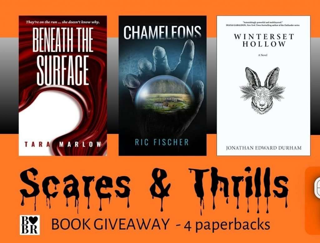 4 Book Scares Thrills Giveaway Feature