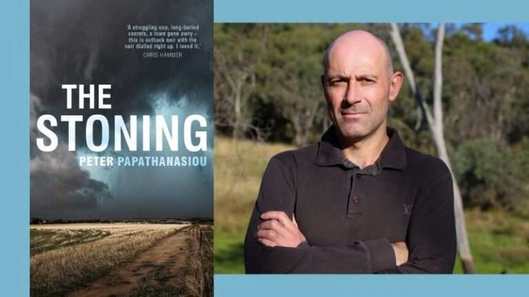 Peter Papathanasiou on writing The Stoning + #Giveaway